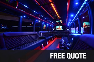 Dallas Party Bus Limo Bus Service