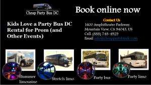 DC Party Bus Prom Rental