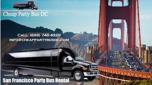 San Francisco Party Bus