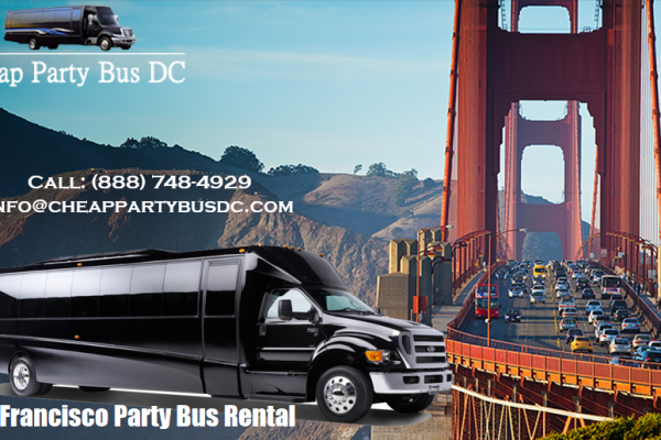 San Francisco Party Bus