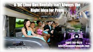 Washington DC Limo Bus