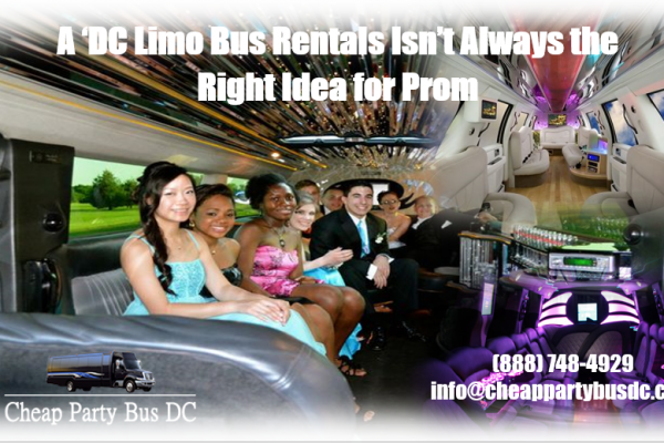 Washington DC Limo Bus
