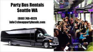 Seattle Party Bus Rental Service