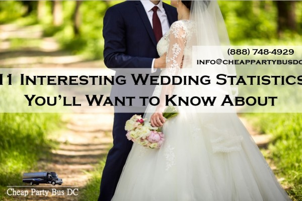 11 Interesting Wedding Statistics in the United States