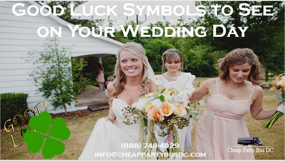 Symbols of Good Luck You Can Only Hope to See on Your Wedding Day