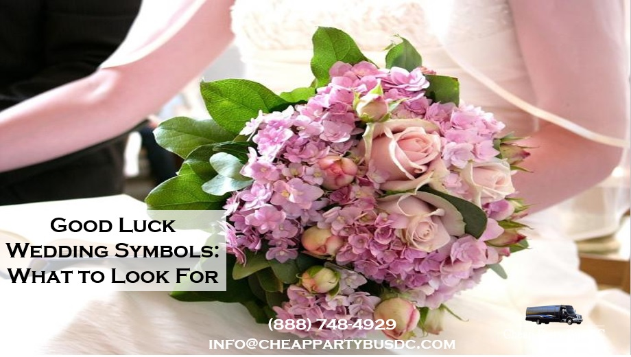 Good Luck Symbols to See on Your Wedding Day