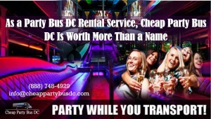 Party Bus DC Rental Service
