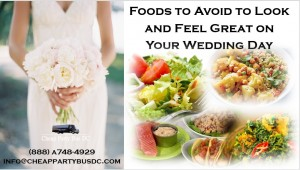 Foods to Avoid to Look and Feel Great on Your Wedding Day