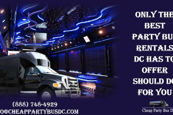 Party Bus Rentals DC