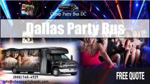 Cheap Party Bus Dallas