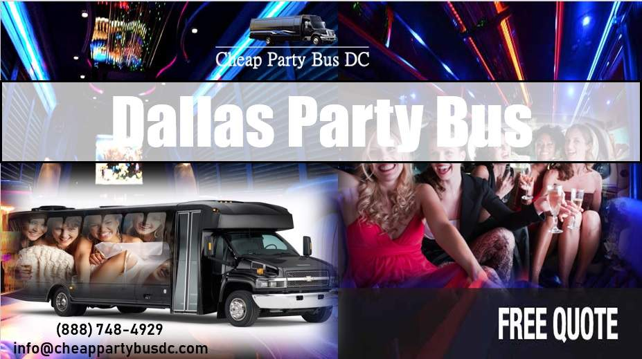 Cheap Party Bus Dallas