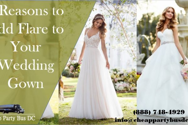 Adding Subtle Flare to Your Wedding Gown for Big Style