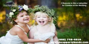 3 Great Ways to Entertain Children at the Wedding