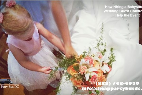3 Reasons to Hire a babySitter for Children at the Wedding