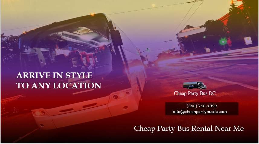 Cheap Party Bus Rental