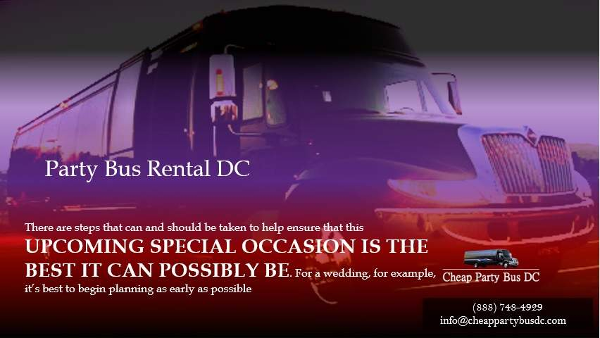 DC party bus rental