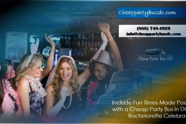 Cheap Party Bus in DC