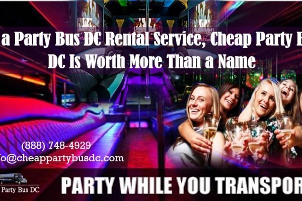 Party Bus DC Rental Service