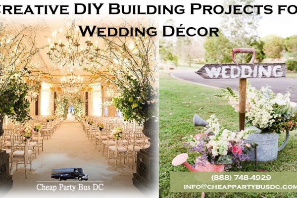 5 Neat Things to DIY Build for Your Wedding