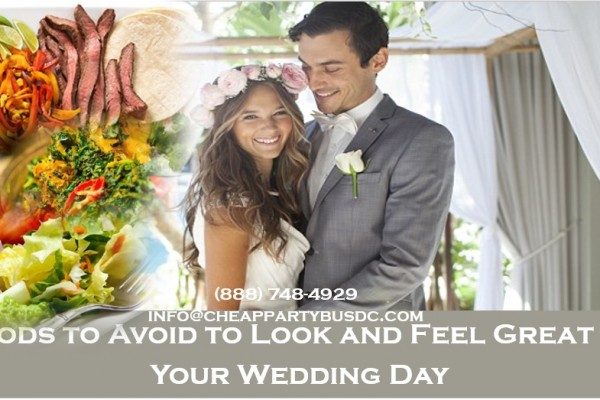 Foods to Eliminate for a Slim Belly on Your Wedding Day