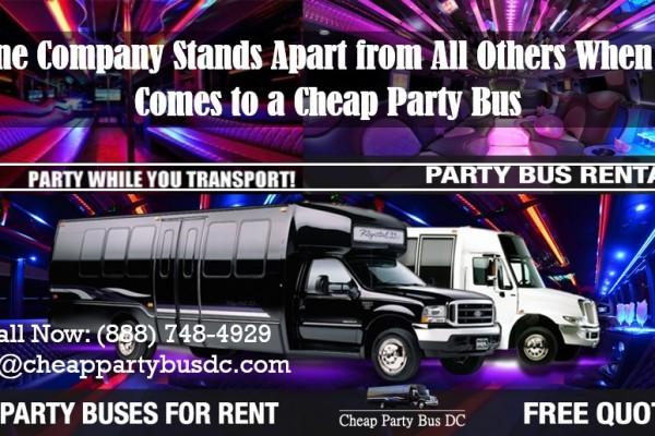 Cheap Party Bus
