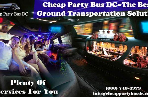 Cheap Party Bus DC